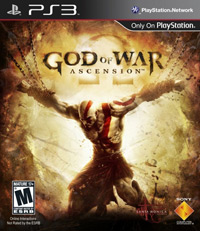 Game Box for God of War: Ascension (PS3)