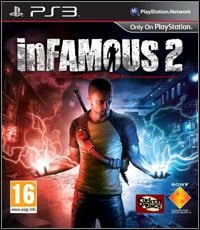 Game Box for inFamous 2 (PS3)