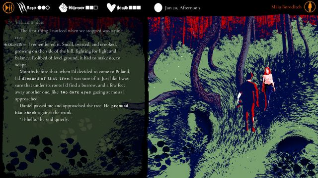 The werewolf roars in the Forest - Werewolfs announcement: The Apocalypse - Heart of the Forest - picture #6