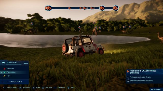 Jurassic World Evolution: Complete Edition Review - Dinotopia on Couch - picture #2