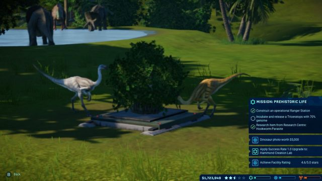 Jurassic World Evolution: Complete Edition Review - Dinotopia on Couch - picture #5