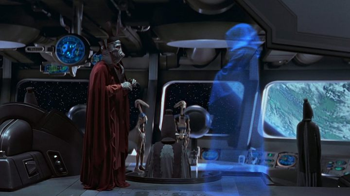 The beginning of Palpatine's plan was modest. Inciting a crisis, taking over as the chancellor, combining the fate of Anakin Skywalker, Padme Amidala and Obi-Wan Kenobi. - What are Star Wars About? Not What You Though. - dokument - 2019-11-28