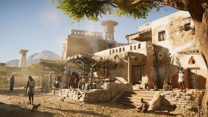 Perhaps Ubisoft will surprise us yet, and Assassin's Creed Origins will feature RPG-like, interactive dialogues? - 2017-08-31