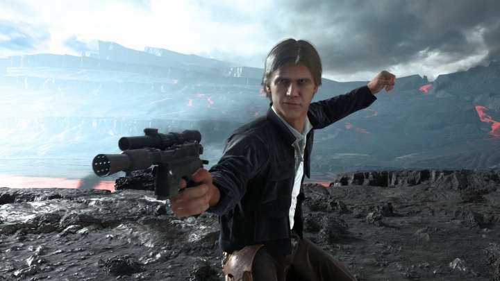 A screenshot from the first Star Wars: Battlefront by Electronic Arts. - 2017-01-05