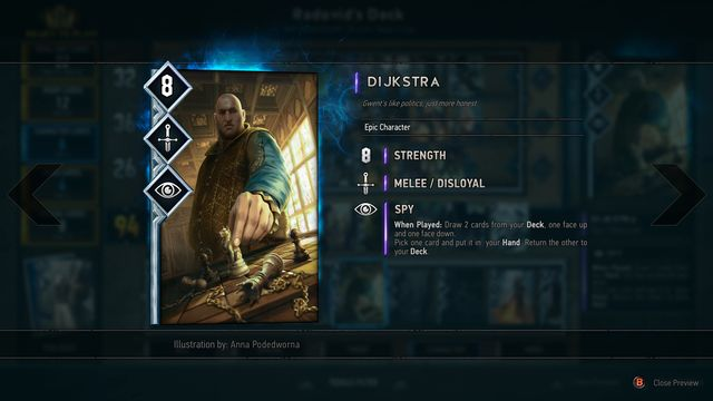 Dijkstra as an example of changes in spy cards. - 2016-06-16