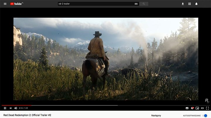 The famous joke about what RDR2 looks like on a PC (it looks like a yt video) will soon be out of date. - Top Five Reasons to Play Red Dead Redemption 2 on PC - dokument - 2019-10-09