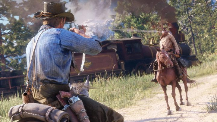 You never know where an adventure in the Wild West will take you. It can be friendship, wealth, or death. - Top Five Reasons to Play Red Dead Redemption 2 on PC - dokument - 2019-10-09