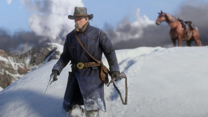 From the footprints in the snow and shrinking testicles, to patina settling on weapons. RDR2 exerts a maniacal attention to details. - Top Five Reasons to Play Red Dead Redemption 2 on PC - dokument - 2019-10-09