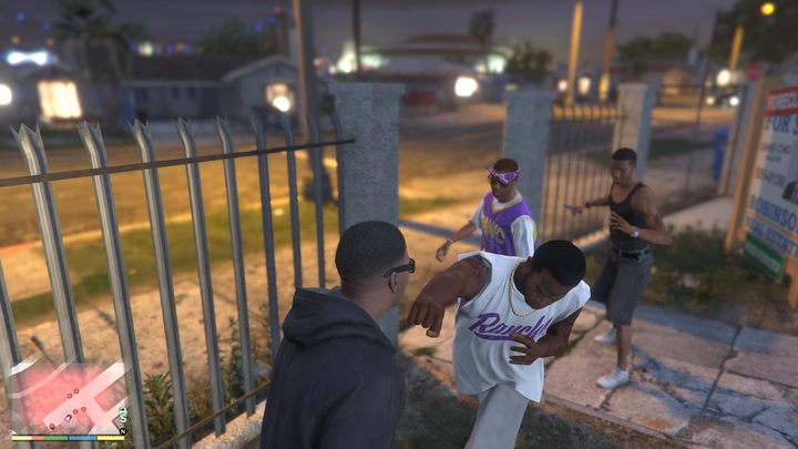 Fights with Ballas are only sporadic in GTA V. - Rap, Riots, and Gangs of LA – True Story Behind GTA: San Andreas - dokument - 2020-06-05