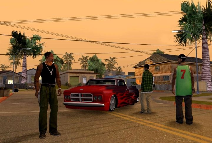 13 years ago, GTA: SA was a torture test for PlayStation 2. Today, you can run it on a smartphone. - 2017-05-11