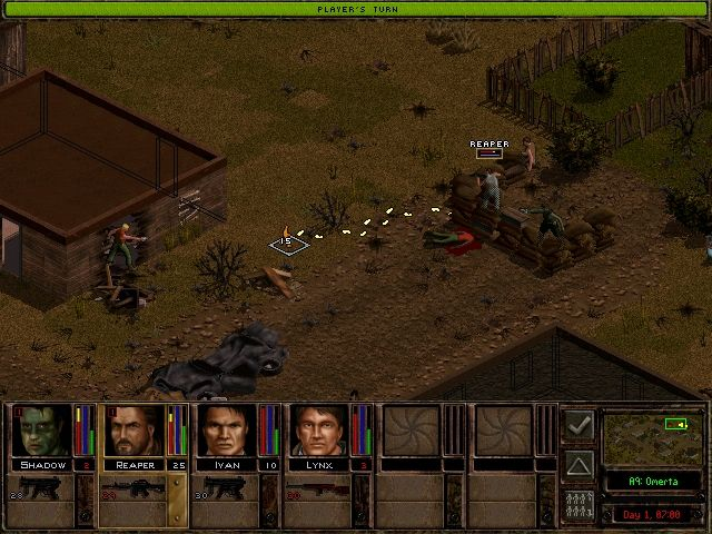 In the strategy genre, graphics are considered to be of secondary importance, but Jagged Alliance 2 has visibly gotten old.