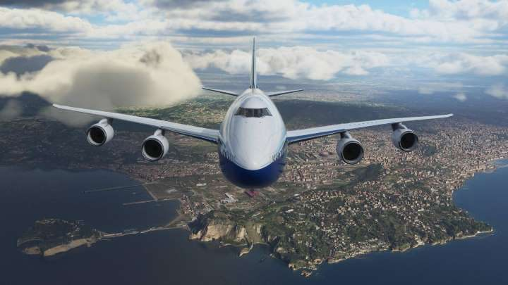 Boeing 747 is an old design. Anyone remember the movie Airport 77? Classic. - 5 Things to Do in Microsoft Flight Simulator 2020 - dokument - 2020-02-07