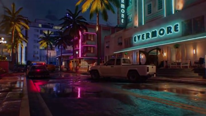 Neon-lit Miami is the most distinctive map I've tested in the alpha version of Cold War. - Call of Duty: Black Ops – Cold War Multiplayer Hands-on Preview - dokument - 2020-09-09