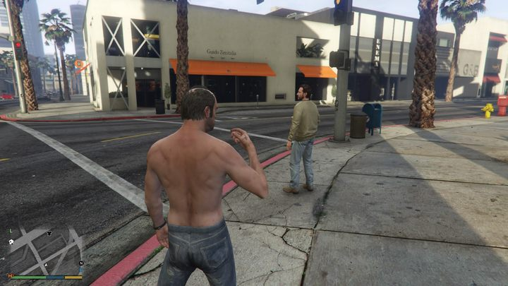 Crossing the street turns out to be quite stressful for the residents of Los Santos. - 2017-08-03
