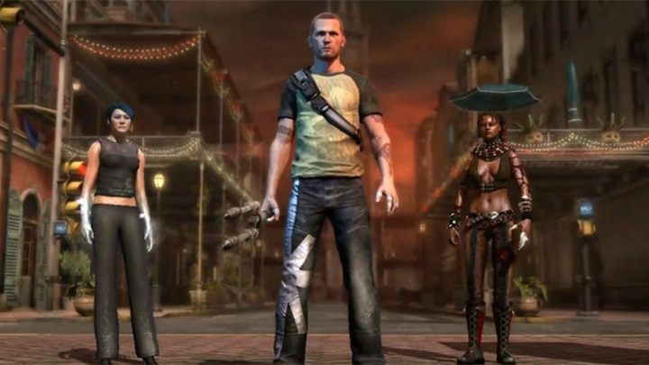 Infamous 2 first had players chose one of two characters to become their companions, and then pitted them against you. - 2018-10-10