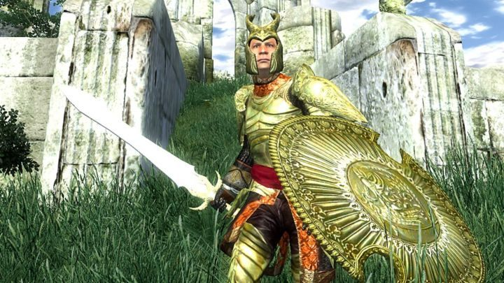 Wow. This guy uses to command so much respect with his appearance alone! - The Elder Scrolls: Oblivion – Once Slayer of PCs, Now Nearly Neglected - dokument - 2020-09-26
