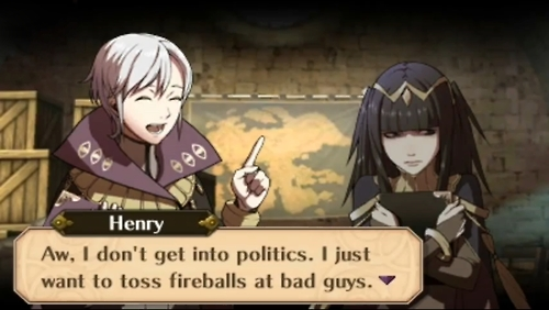 The system of relations with companions in Fire Emblem: Awakening truly takes the game to the next level.