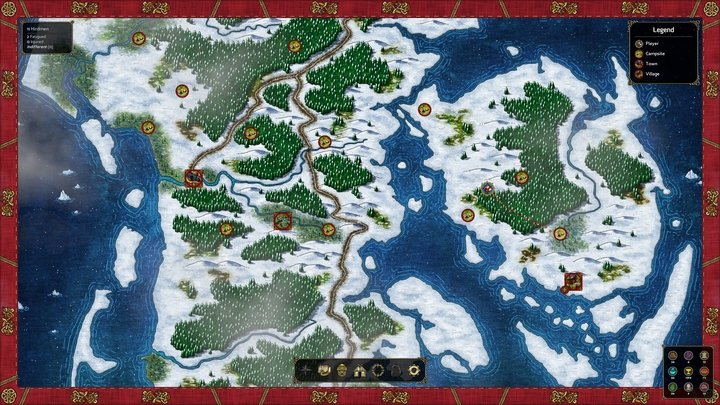 The campaign map looks excellent. - 2016-11-07
