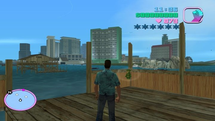 The packages in GTA: Vice City were a nice incentive to explore. - 2017-12-04