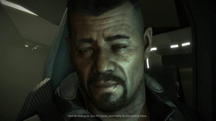 The font sizes in latest Deus Ex game are sensible, but the magnifying glass is useful in cutscenes. - 2018-03-06