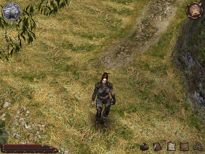 Yes, you saw it right – the playable character in the demo is a female witcher, whose name is Mika. We could also see a person named Korin in the menu, but unfortunately we didn't get to meet this witcher. - 2017-07-17