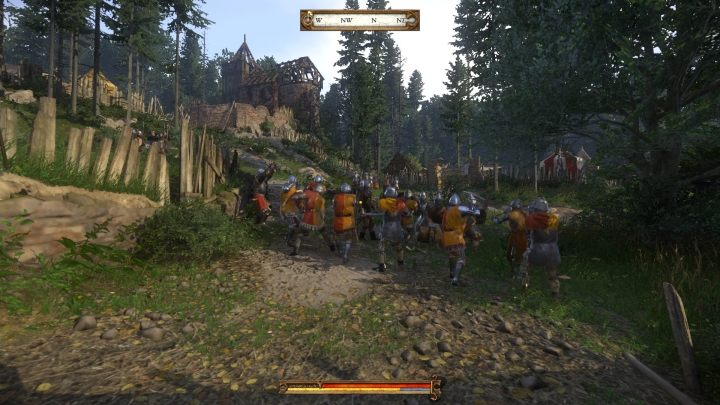 Before an enormous battle with a ton of soldiers in Operation Flashpoint, the game warned the players that it requires a powerful CPU. Kingdom Come also features such battles, with archers instead of snipers and trebuchets instead of tanks. - 2018-04-09