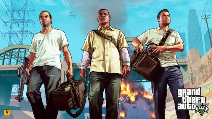 Michael, Trevor and Franklin did it again. - Free GTA 5 Spells Checkmate from Epic Games - dokument - 2020-05-20