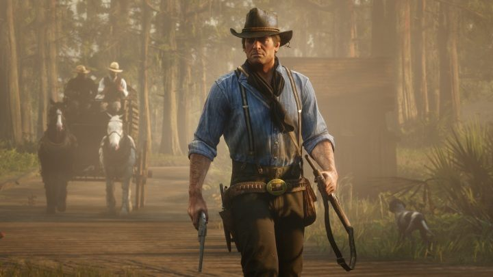 Sales of Red Dead Redemption II reached 29 million copies in February this year. Not bad, but it's less than a third of GTA V's score. - Free GTA 5 Spells Checkmate from Epic Games - dokument - 2020-05-20