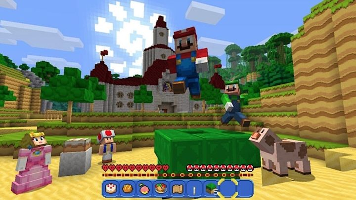 Minecraft has become a symbol of the bromance between Microsoft and Nintendo in their joint, cross-platform effort against Sony. - 2018-08-08