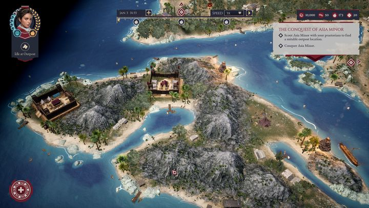 Travel the world. Meet exotic and interesting people. And kill them. - Expeditions Rome Preview: as Big as an Empire - dokument - 2021-05-03