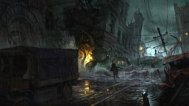 The flooded city will witness many a grizzly scene. - 2016-12-13