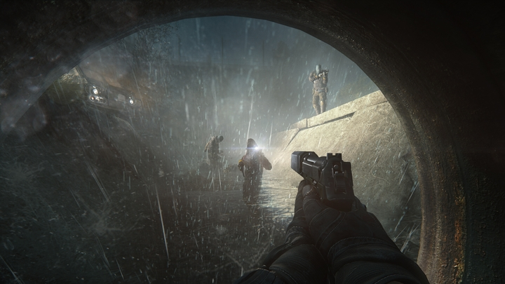 The Ghost path – enemies are eliminated not by long sniper rifle shots, but silently and from up close. (screenshot provided by the developer) - 2016-08-02