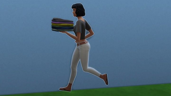 Gotta go, do the laundry. Bye! - Spending $10 for Laundry in The Sims 4 is My Worst Decision This Year - dokument - 2020-03-09