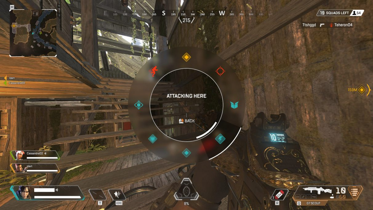 Respawn took a lesson from DICE: the comm system in Apex Legends is ingenious – intuitive and at the same time extensive. - 2019-02-25