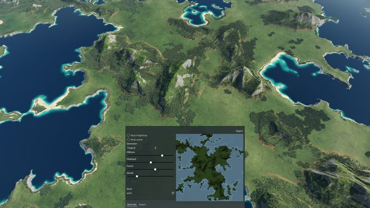 The map generator and editor in the new release is a very powerful tool – one that enables us to build a new, better world. - 2019-07-09