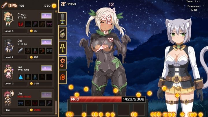 Sakura Clicker – clicking on scantily clad manga characters in order to get more scantily clad manga characters, who will in turn help us to click on even more scantily clad manga characters. That's the basic premise behind this game. - 2018-01-09