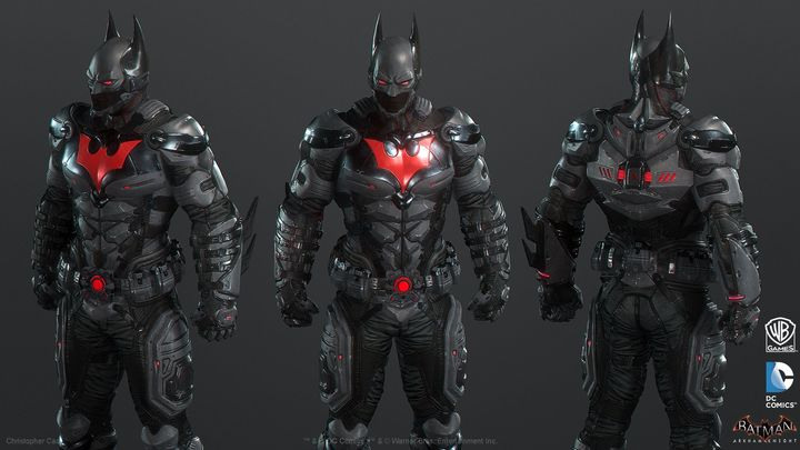 The Batman Beyond suit design for Batman: Arkham Knight. It's all there, just use it for another game… - 2019-04-02