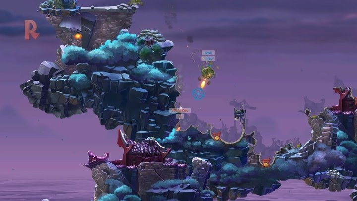 Worms wmd review going back to armageddon gamepressure maps look really great and theyre a sight for sore eyes 2016 gumiabroncs Images