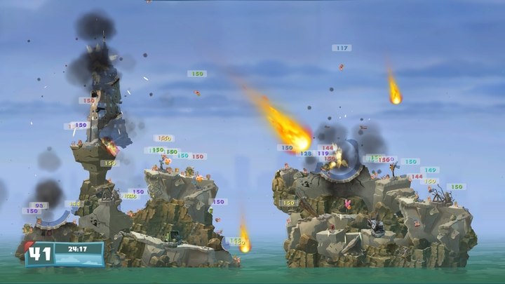 Worms wmd review going back to armageddon gamepressure many weapons that were nerfed in the previous installments finally got their power back just gumiabroncs Choice Image
