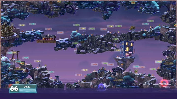 Worms wmd review going back to armageddon gamepressure increasing the limit of worms per map is something that many players were hoping for gumiabroncs Images