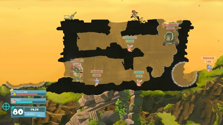 Worms wmd review going back to armageddon gamepressure buildings can become a strategic advantage in multiplayer matches 2016 08 24 gumiabroncs Images
