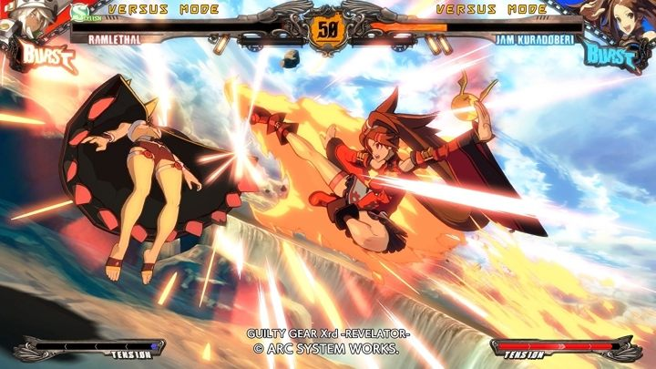In the best fighting games, such as Guilty Gear Xrd Revelator, the input lag is only 70 ms. - 2018-03-14