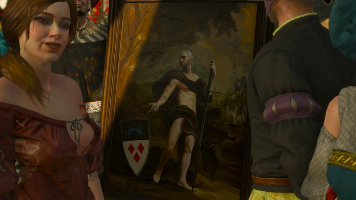 Any self-respecting Toussaint aristocrat should have his portrait hanging on the wall. - 2016-05-25