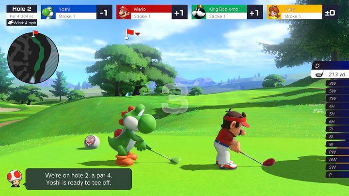 Mario Golf: Super Rush Review - забавные идеи, требующие дополнительной работы - картинка №2