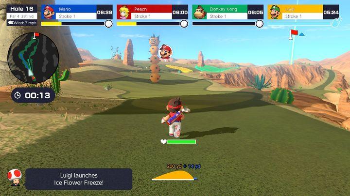 Mario Golf: Super Rush Review - забавные идеи, требующие дополнительной работы - картинка №6