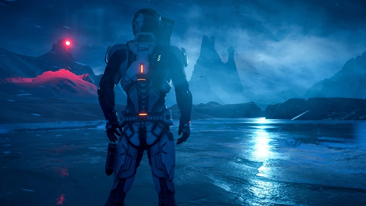 Mass Effect's new visuals will blow your socks off thanks to the Frostbite engine. - 2016-11-09