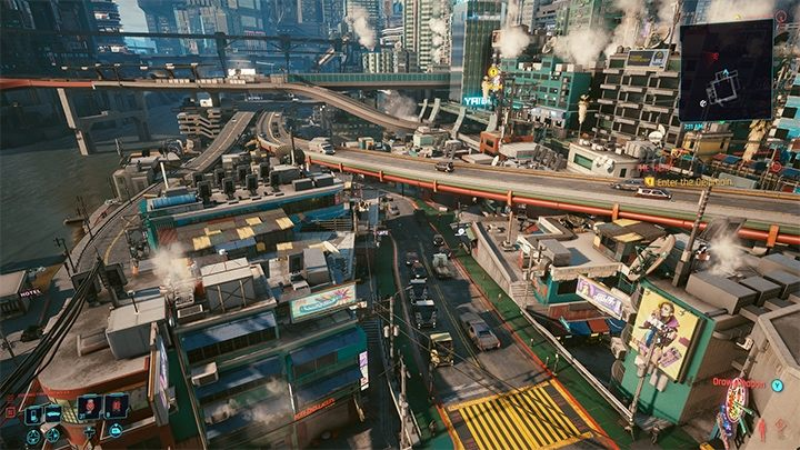 In Cyberpunk, the verticality of the city is not only visible, but felt. - What GTA 6 Can Borrow From Cyberpunk 2077 - dokument - 2021-01-19