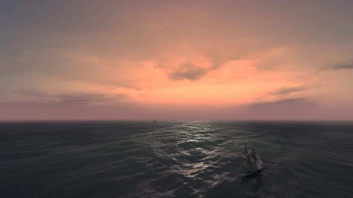 See that ominous figure on the horizon? This could be the harbinger of painful demise. - My Favorite Pain and Suffering Simulator – How Naval Action Shapes Character? - dokument - 2020-01-14