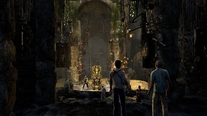 The finale of Uncharted: Drake's Fortune is like the ending of Raiders of the Lost Ark, only very, very dumb. - 11 Good Games Whose Plot is Rubbish - dokument - 2019-12-30