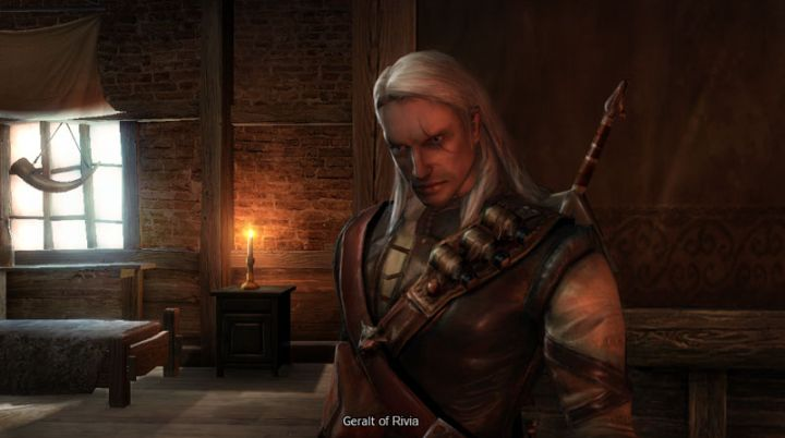 The first important change that affected the development of the first Witcher was the decision to change the protagonist: Berengar, the devs' original character, was replaced by Geralt. This forced the team to almost completely rewrite the plot (although most of the assets and locations could still be, and were, used). - 2017-06-29